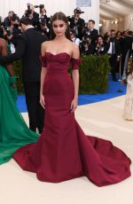 TAYLOR HILL at 2017 MET Gala in New York 05/01/2017