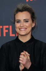 TAYLOR SCHILLING at Orange in the New Black Screening in Los Angeles 05/05/2017