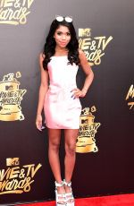 TEALA DUNN at 2017 MTV Movie & TV Awards in Los Angeles 05/07/2017
