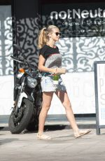 TERESA PALMER Out for Lunch in Los Angeles 05/01/2017