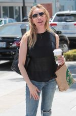 TESS BROUSSARD Out for Coffee in Beverly Hills 05/03/2017