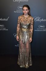 THYLANE BLONDEAU at Chopard Party at 2017 Cannes Film Festival 05/19/2017