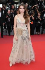 THYLANE BLONDEAU at Loveless Premiere at 2017 Cannes Film Festival 05/18/2017