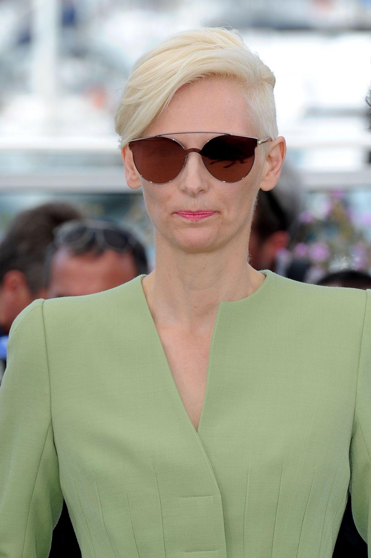 TILDA SWINTON at Okja Photocall at 2017 Cannes Film ...