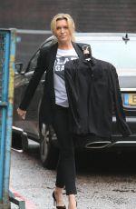 TINA HOBLEY Arrives at ITV Studios in London 05/15/2017