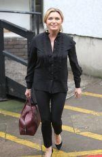 TINA HOBLEY Leaves ITV Studios in London 05/15/2017