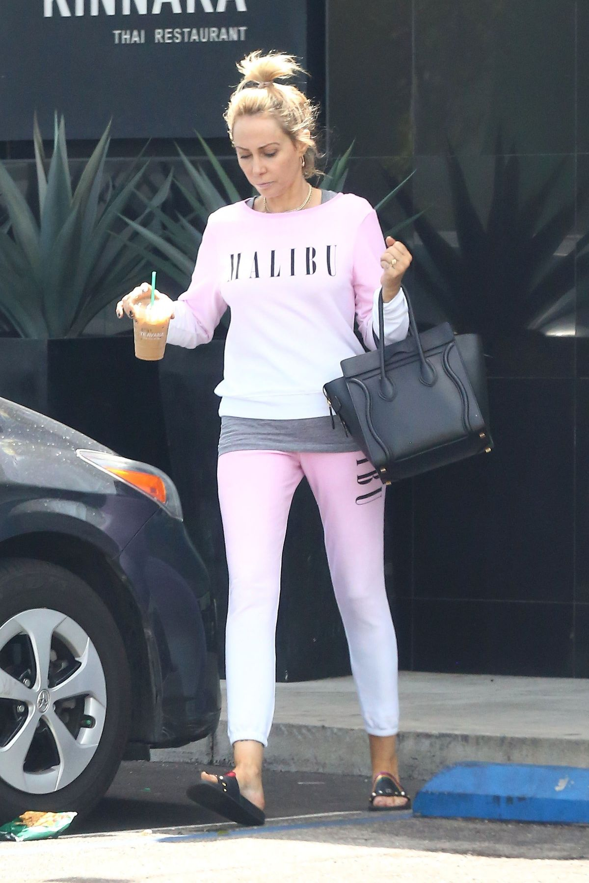 TISH CYRUS Out and About in Van Nuys 05/14/2017