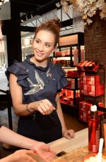 TROIAN BELLISARIO at Rituals Fifth Avenue Store Opening in New York 05/04/2017
