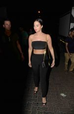 TULISA CONTOSTAVLOS Out for Dinner in Mumbai 05/01/2017