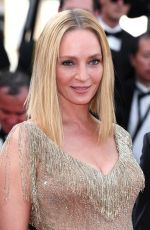 UMA THURMAN at 70th Annual Cannes Film Festival Closing Ceremony 05/28/2017