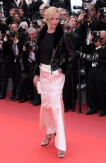 UMA THURMAN at Loveless Premiere at 2017 Cannes Film Festival 05/18/2017
