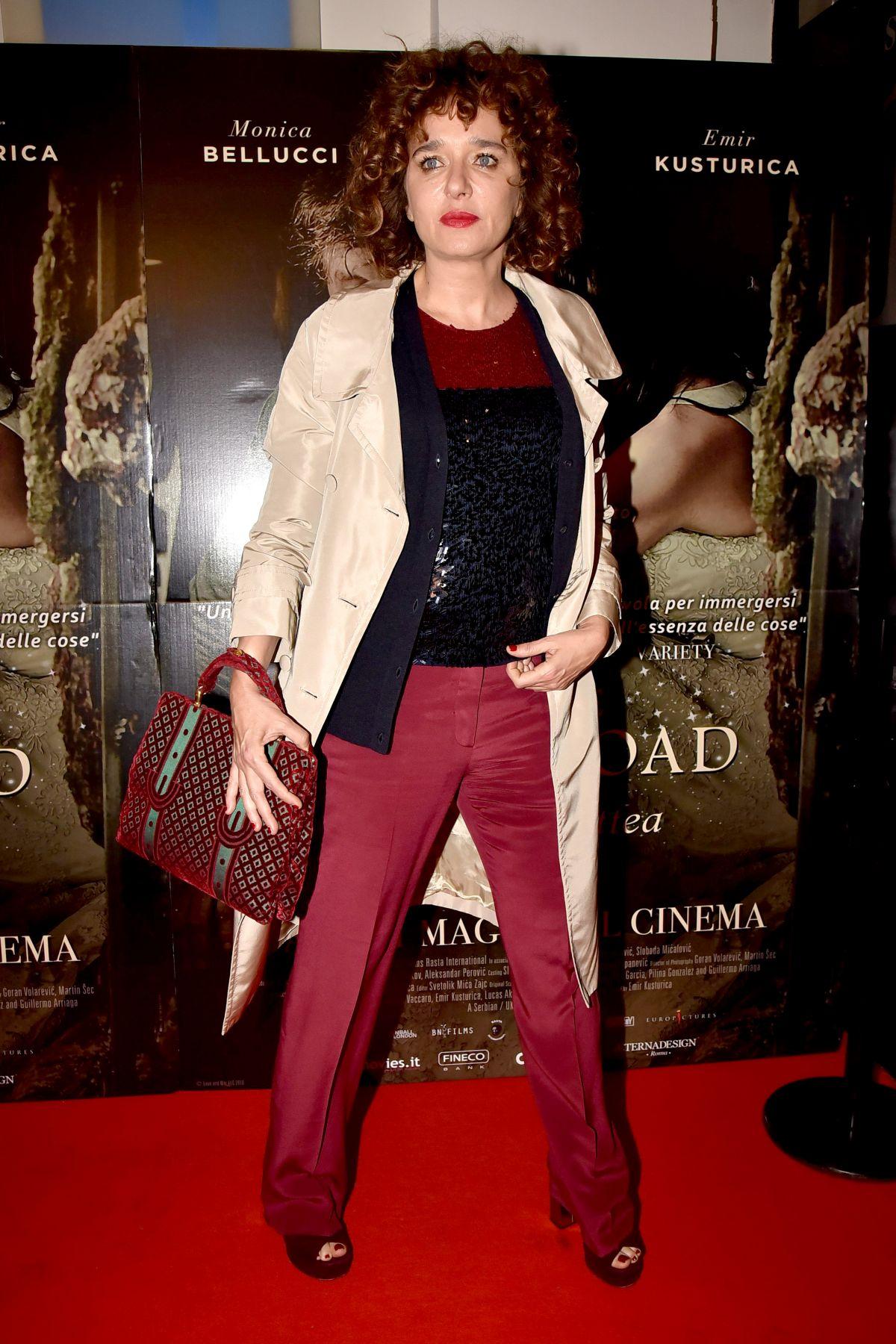 VALERIA GOLINO at On the Milky Road Premiere in Rome 05/08 ...