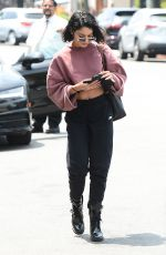 VANESSA HUDGENS Arrives at a Skincare in Beverly Hills 05/17/2017