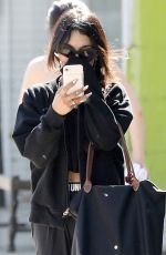VANESSA HUDGENS Leaves a Gym in Los Angeles 05/02/2017