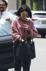 VANESSA HUDGENS Out and About in West Hollywood 05/17/2017