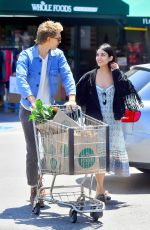 VANESSA HUDGENS Shopping at Whole Foods in Los Angeles 05/31/2017