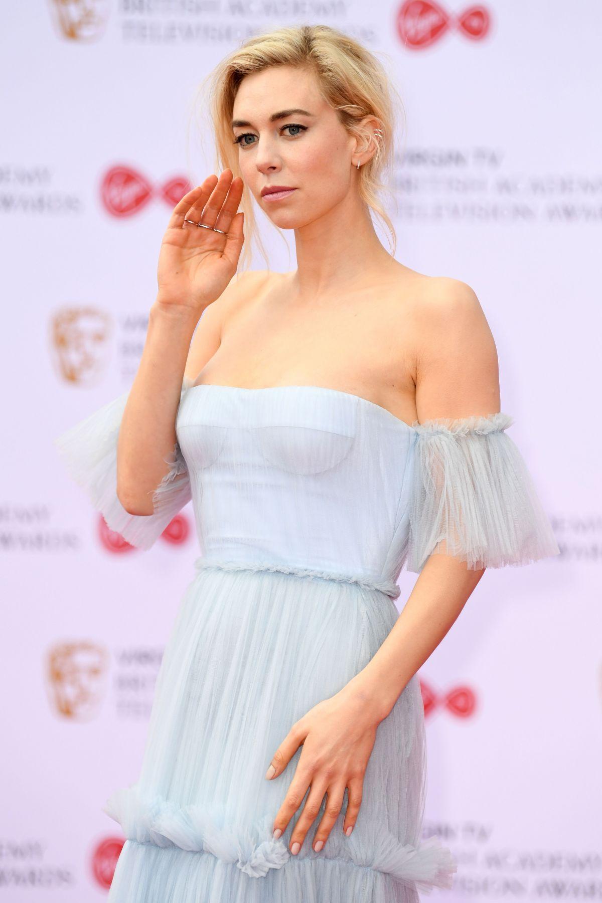VANESSA KIRBY At 2017 British Academy Television Awards In