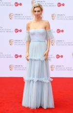 VANESSA KIRBY at 2017 British Academy Television Awards in London 05/14/2017