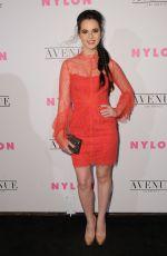 VANESSA MARANO at Nylon Young Hollywood May Issue Party in Los Angeles 05/02/2017