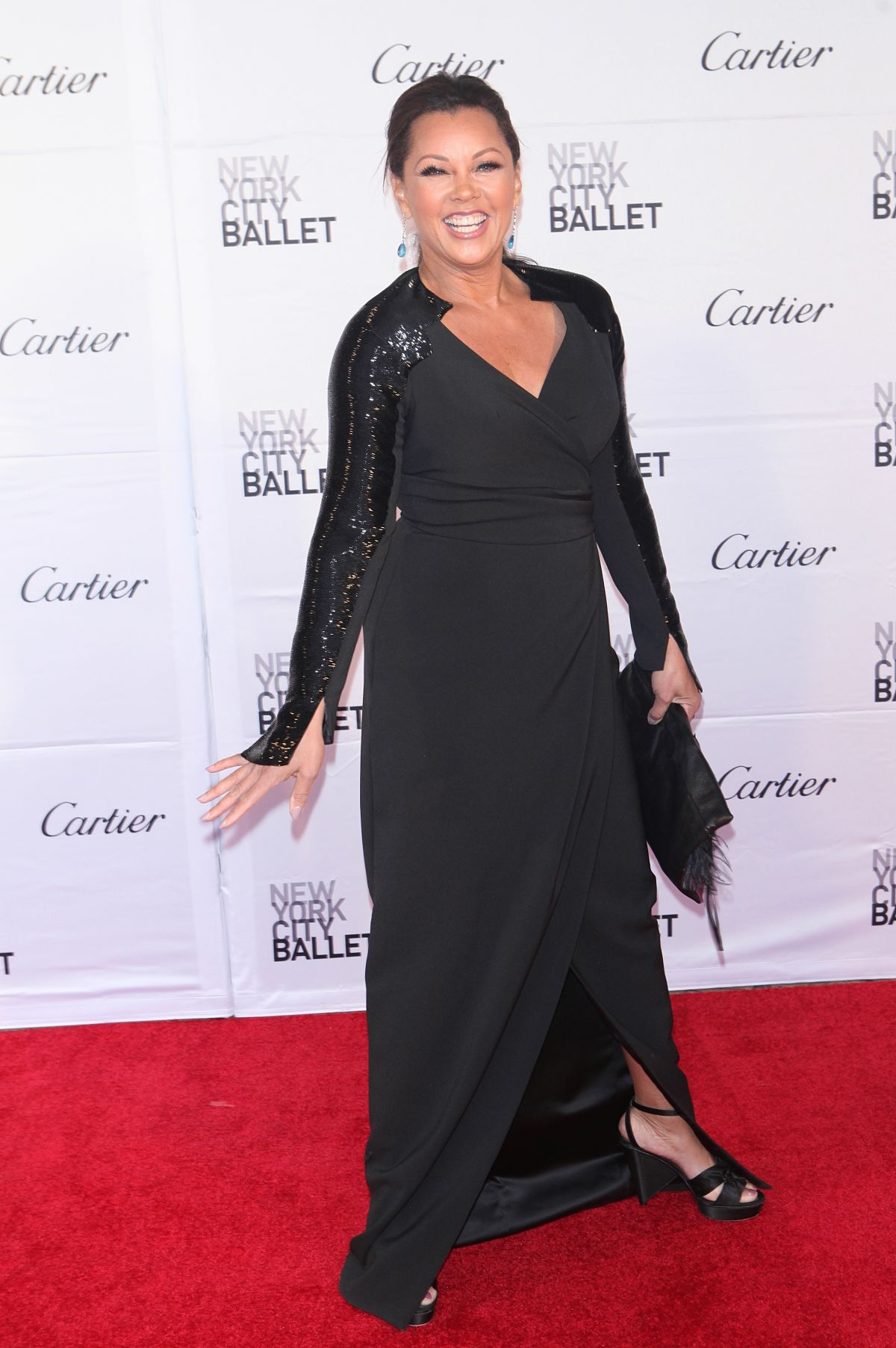 VANESSA WILLIAMS at New York City Ballet Spring Gala 05/04 ... Vanessa Williams
