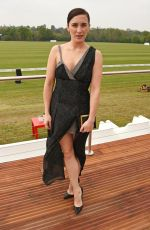 VICKY MCCLURE at Audi Polo Challenge at Coworth Park in Ascot 06/06/2017