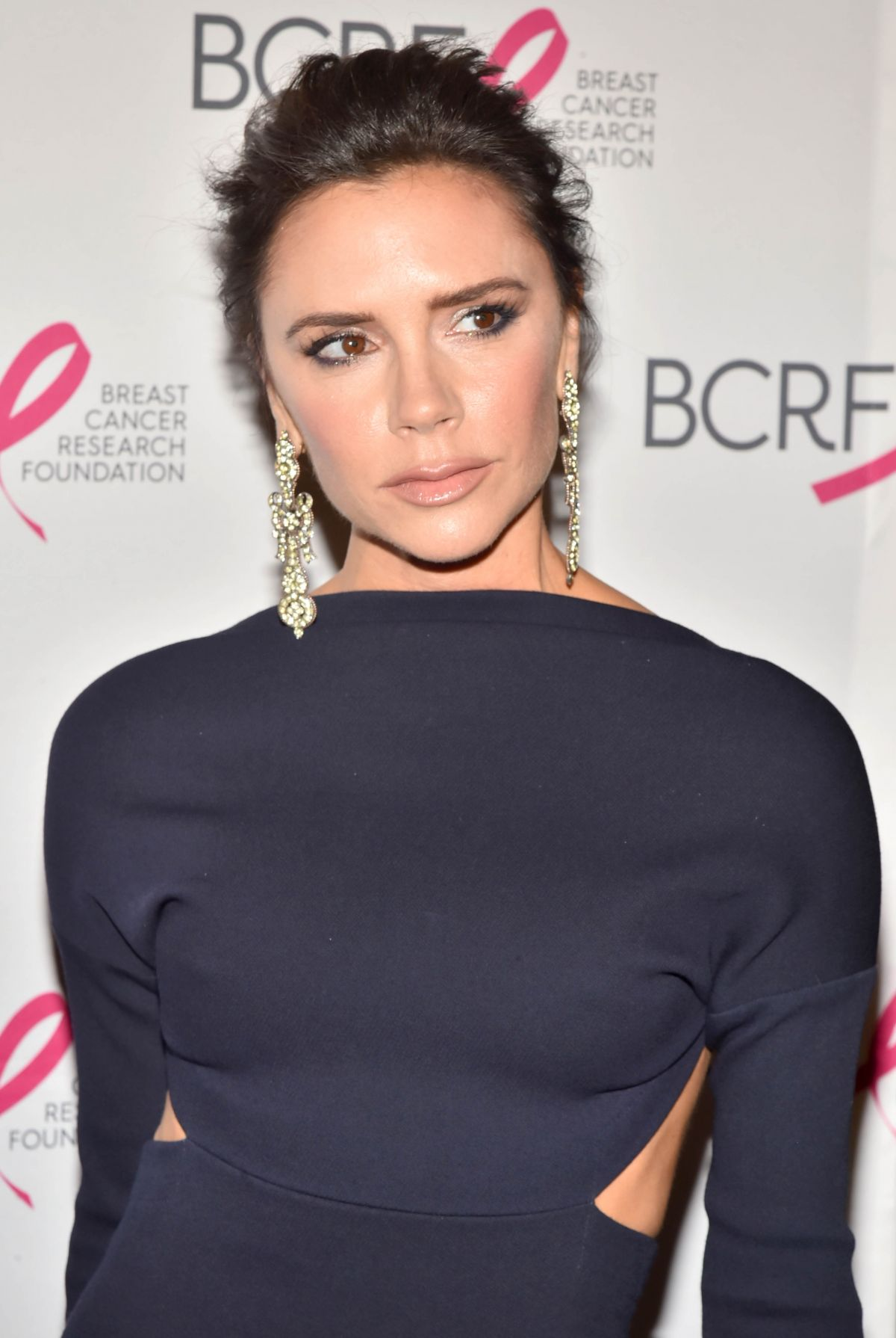 VICTORIA BECKHAM at The Hot Pink Party in New York 05/12/2017