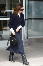 VICTORIA BECKHAM Leaves Her Hotel in New York 05/11/2017