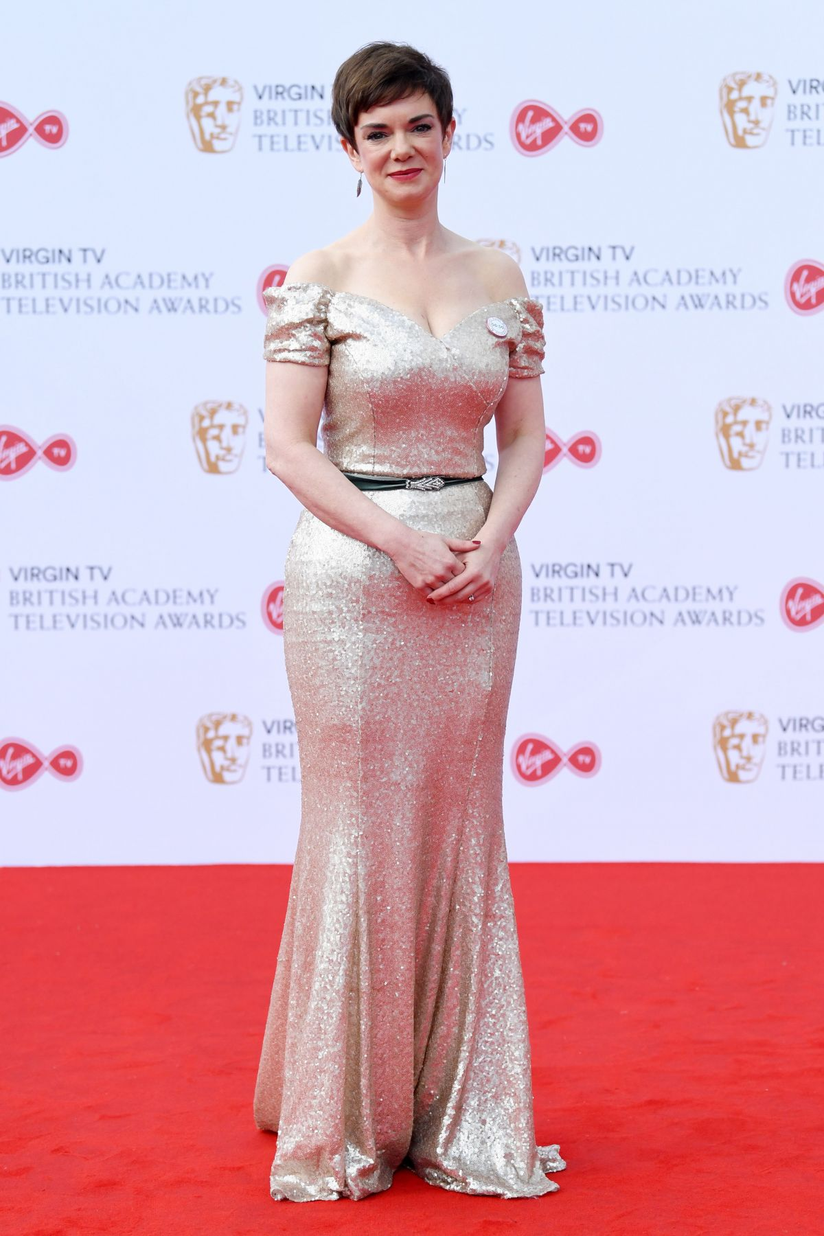 VICTORIA HAMILTON At 2017 British Academy Television