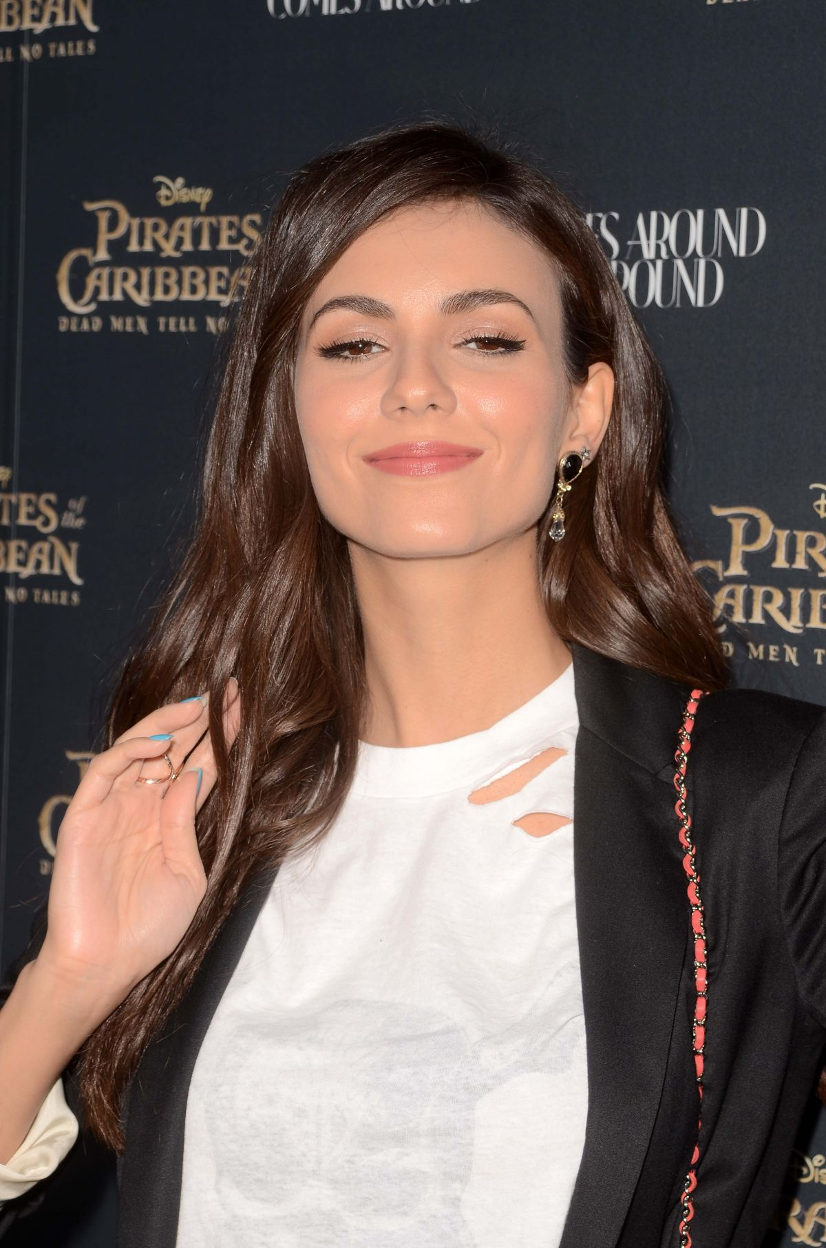 VICTORIA JUSTICE at Pirates: What Comes Around Goies Around Event in Beverly Hills 05/17/2017