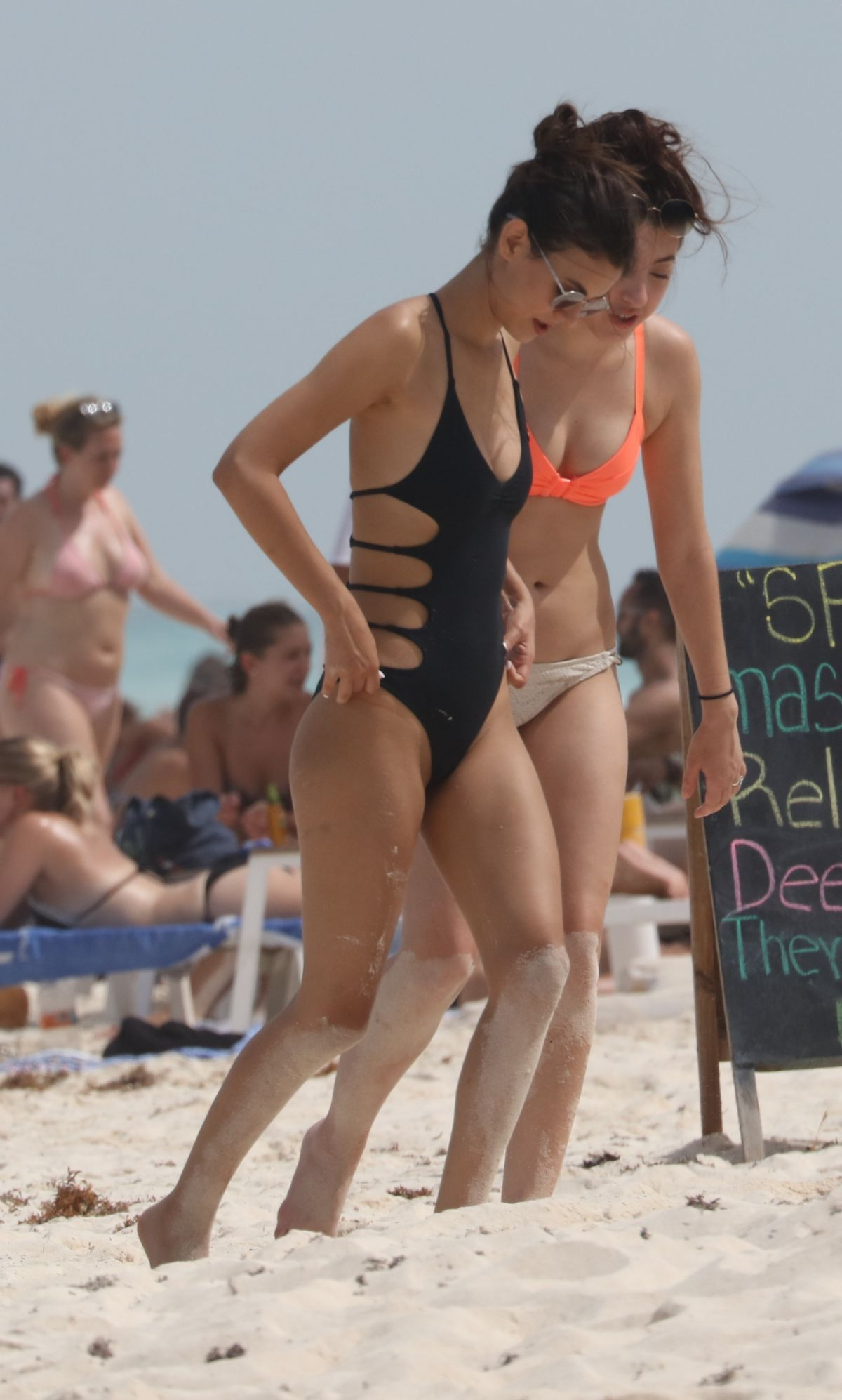 VICTORIA JUSTICE in Swimsuit on the Beach in Cancun 05/29 ...