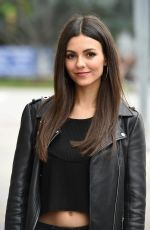 VICTORIA JUSTICE Out and About in Los Angeles 05/18/2017
