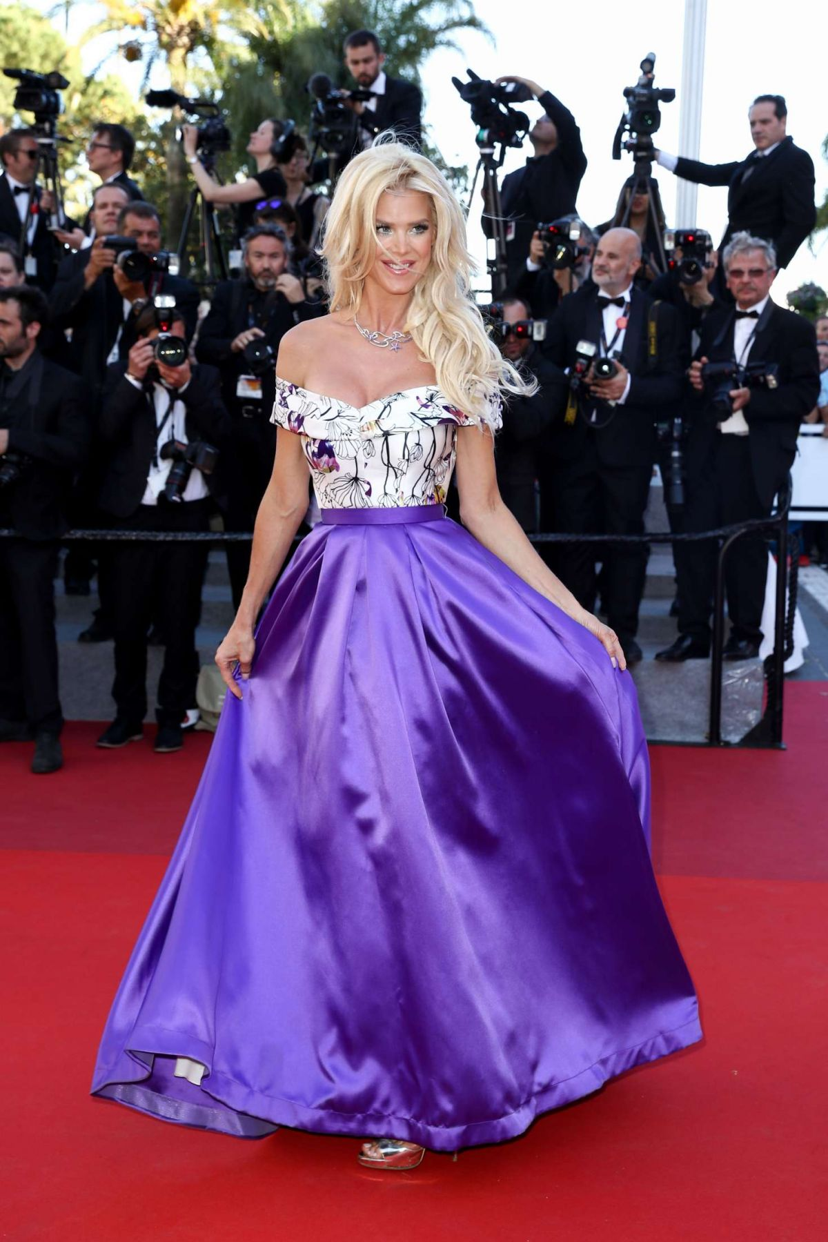 VICTORIA SILVSTEDT at Okja Screening at 70th Annual Cannes Film Festival 05/19/2017