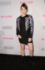 VILOETT BEANE at Nylon Young Hollywood May Issue Party in Los Angeles 05/02/2017