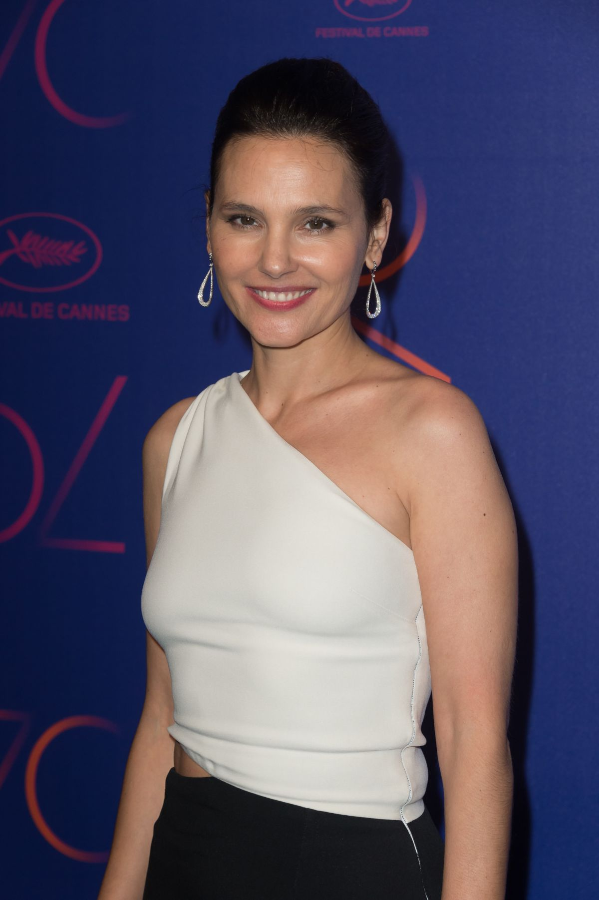 VIRGINIE LEDOYEN at Cannes Film Festival 70th Anniversary Dinner 05/23/2017