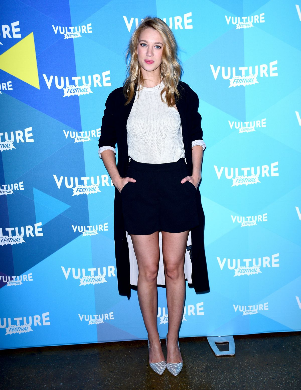 YAEL GROBGLAS at Vulture Festival in New York 05/20/2017