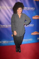 YVETTE NICOLE BROWN at The Bodyguard Opening Night in Los Angeles 05/02/2017