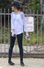ZENDAYA COLEMAN Out Hikking in Los Angeles 05/29/2017