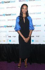 ZOE SALDANA at 5th Annual Moms + Socialgood Event in New York 05/04/2017