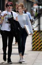 ZOEY DEUTCH on the Set of Set It Up in New York 05/16/2017