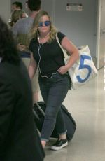 AMY POEHLER at LAX Airport in Los Angeles 06/25/2017