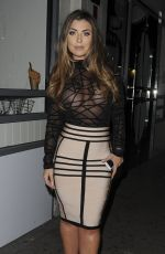 ABI CLARKE Arrives at Sixty6 Magazine Launch Party in London 06/21/2017