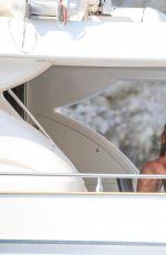 ABIGAIL ABBEY CLANCY in Bikini at a Yacht in Mallorca 06/23/2017
