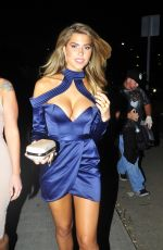 ABIGAIL RATCHFORD Arrives at Maxim Hot 100 Party in Hollywood 06/24/2017