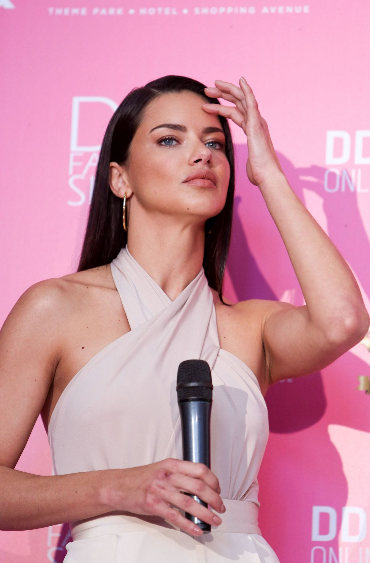ADRIANA LIMA at Dosso Dossi Fashion Show in Antaly 06/09/2017