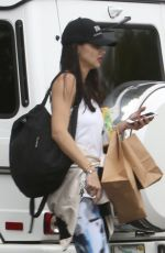ADRIANA LIMA Leaves a Gym in Miami 06/02/2017