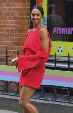 ALESHA DIXON Out and About in London 05/30/2017