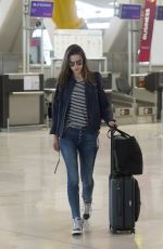 ALESSANDRA AMBROSIO at Airport in Madrid 06/03/2017