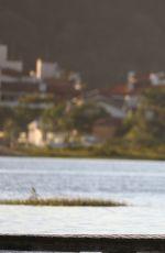 ALESSANDRA AMBROSIO Goes Fishing in Florianópolis 06/25/2017
