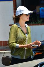 ALESSANDRA AMBROSIO Heading to a Gym in Los Angeles 06/20/2017