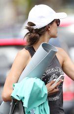 ALESSANDRA AMBROSIO Leaves Yoga Class in Santa Monica 06/19/2017